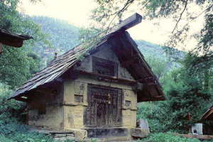 Gabled Roofed Temples